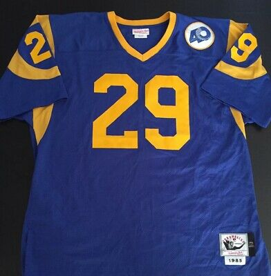 new concept 21ab8 a7811 ERIC DICKERSON #29 Los Angeles Rams Mitchell & Ness 1985 ...