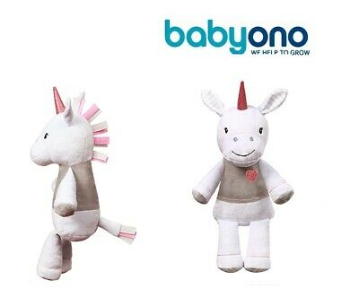 Lucky the Unicorn cuddly soft toy baby Babyono new