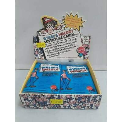 1991 Wheres wally waldo Mattel Trading Cards -Single Packet-