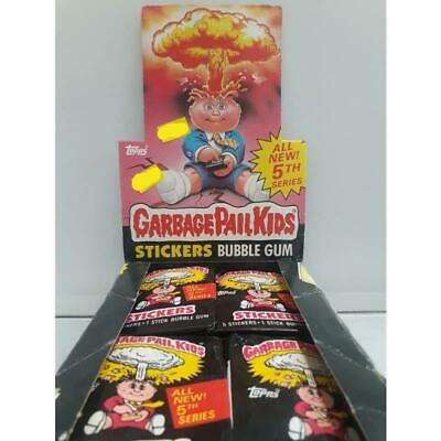 Garbage Pail Kids Original Series 5 Topps 1986 Trading Cards -Single Packet-