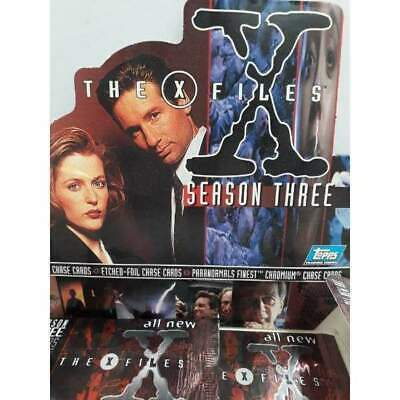 The X-Files Season 3 Topps 1996 Trading Cards -Single Packet-