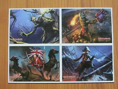 Iron Maiden - Legacy of the Beast Postcards