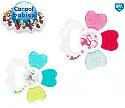 "Hand Light Free Bpa Canpol Baby First Soft Silicone teether /""Star/"" 0m"