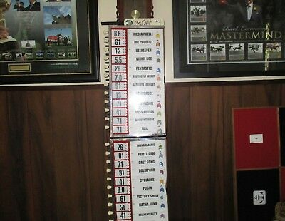 Bookmakers Odds Board . . Full 24 Slot Melbourne Cup Capacity