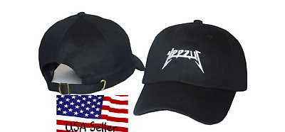 48ad0732c26da YEEZUS HAT GLASTONBURY Unstructured strap back Kanye Dad Cap Yeezy ...