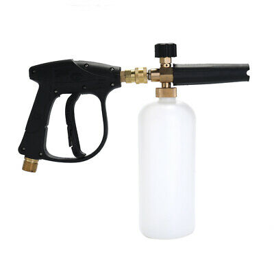 Adjustable Car Wash Watering Can 1L with HDPE and Brass Soap Foam Pressure M4E7