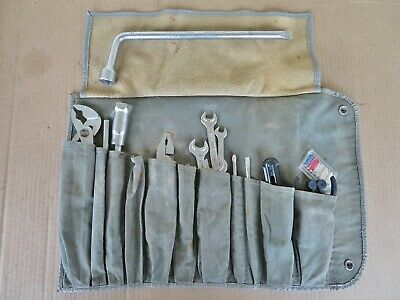 NICE Mercedes W113 230 250 280 SL OEM  TOOL KIT--ALL ORIGINAL, 100% COMPLETE