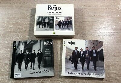 4 CD Box Set The Beatles ‎– Live At The BBC The Collection Vol. 1 & 2 Remastered