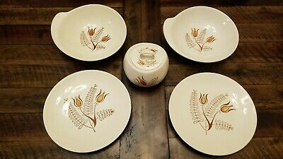 Ancient 1940s very rare Royal China Plates  Soup Bowls and Suger Bowl With Lid.