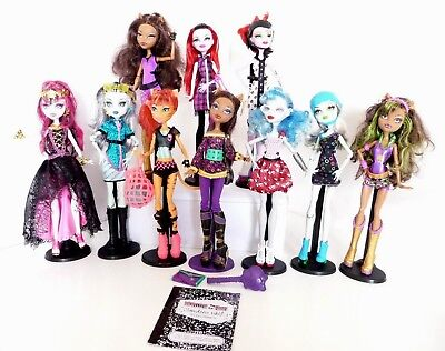 MONSTER HIGH DOLLS rare Torali Clawdeen Operetta Ghoulia  23