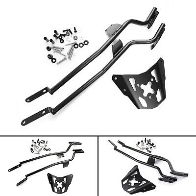 Motorcycle Sissy Bar Luggage Rack Carrier Plate For Yamaha MT-07 FZ-07 2014-2017