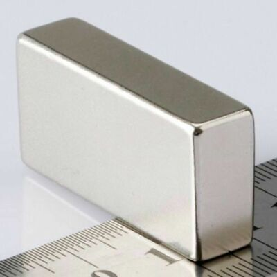 N52 Block Super Strong Magnet Neodymium Permanent Rare Earth Magnet 40x20x10mm