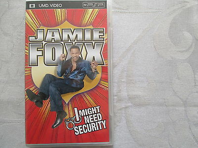 Jamie Foxx - I might need security - Comedy - UMD Video for PSP nur auf Englisch