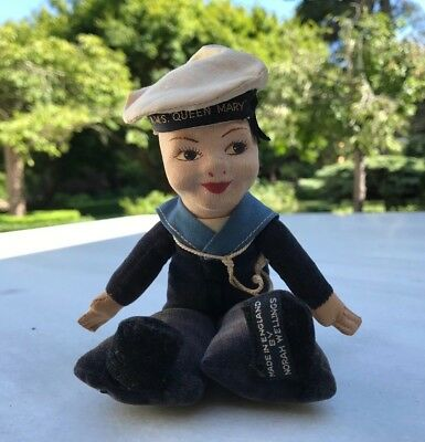 Norah Wellings Doll From The Original 'queen Mary' Ocean Liner