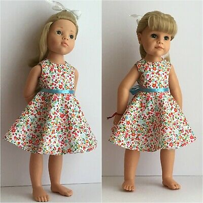 Fits Gotz Hannah Doll & Happy Kidz, Doll Clothes, Dress