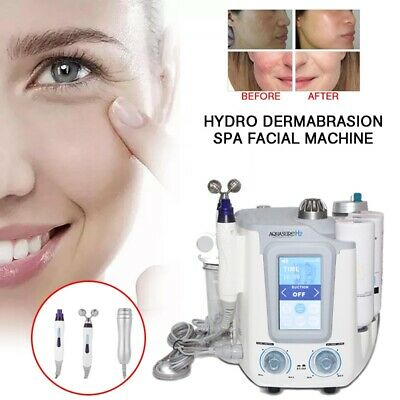 Spa Facial Machine Pro Hydra Microdermabrasion Deep Cleansing Hydro Dermabrasion