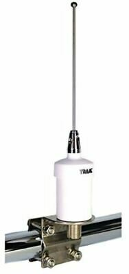 Heavy-Duty VHF Marine Radio Antenna Stainless Steel Transceiver Boat 15ft Cable