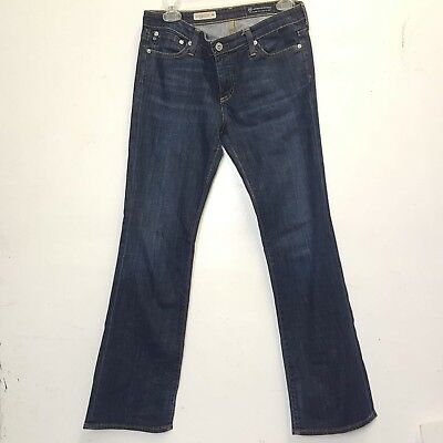 8cbeda93d9a AG Adriano Goldschmied Jeans Size 28 The Angelina Petite Boot Cut Stretch  Denim