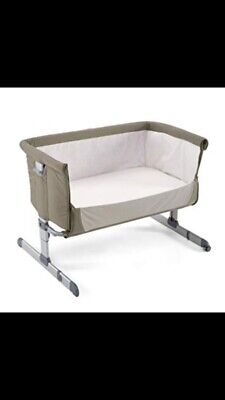 Chicco Next To Me Grey Baby Bassinet/crib With Carry Bag