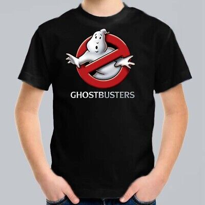 GhostBusters Kids T-Shirt, Children Funny Movie Tee Size 0-16 Ghost Busters