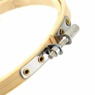 Wooden Cross Stitch Machine Embroidery Hoop Ring Bamboo Sewing Accessory Tools