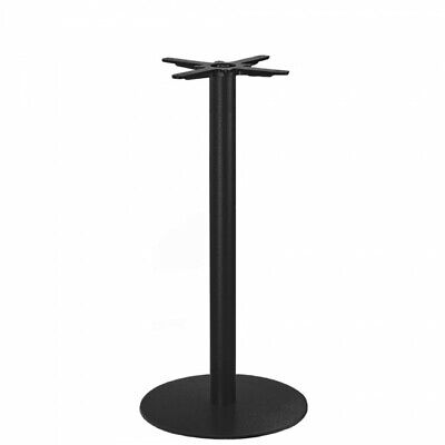 Annick Bar Table Base Black Round - 1050 High