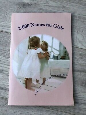 2000 Names For Girls Book