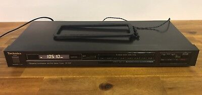 Technics ST-500 AM/FM Stereo Radio Tuner Made In Japan