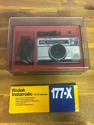 Vintage Kodak Instamatic 177-X Camera