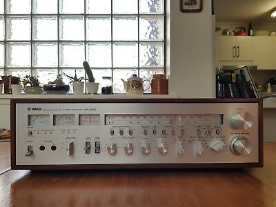 Vintage Yamaha CR-2020 Stereo Receiver Audiophile