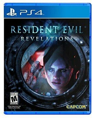Resident Evil: Revelations (Sony Playstation 4, 2017) Neu Ovp