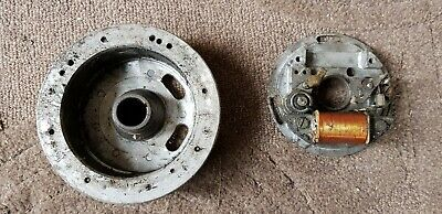 Husqvarna Ignition Points, Back Plate and Flywheel