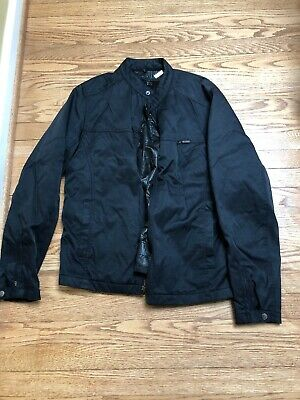 84c8d0339 NWT AN ORIGINAL Penguin Men's Quilted Bomber Jacket, Small, Silver ...