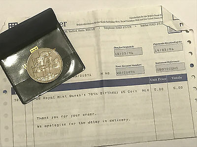 1996 £5 (Five Pound) Commemorative Coin - WESTMINSTER MINT - PROOF OF PURCHASE