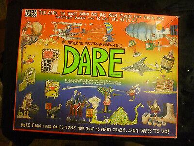 vintage dare board game from parker games