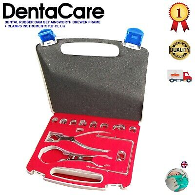 Dental Rubber Dam Clamp 13 piece Set / Ainsworth Brewer- DentaCare UK