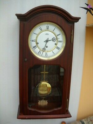 Westminster Chimes Wall Clock In G.w.o. German F.h.s. Movement.