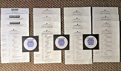 13 Beatles Radio Shows - 16 Hours - Albums & Movies - Cue Sheets - See List!!