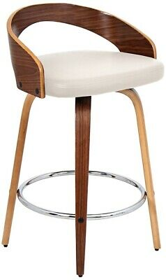 Wondrous Lumisource Grotto Mid Century Modern Bar Stool 127 50 Squirreltailoven Fun Painted Chair Ideas Images Squirreltailovenorg
