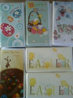 50 Easter Money Wallets Cards, Wholesale Joblot Greeting Cards