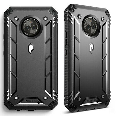 360°Protective Case For Motorola Moto X4 Shockproof Cover Black
