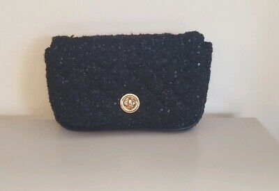534c3e44b0 Ladies Black Matalan Gold Chain Cross Body Bag New Never Been Wrom Before