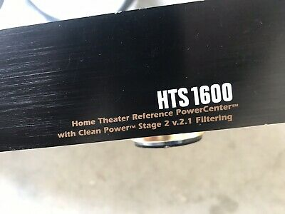 Monster MP HTS 1600 8-Outlet Power Center with Stage 2 Clean Power