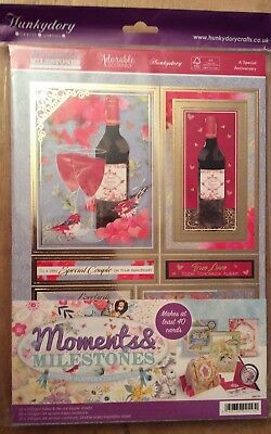 """Hunkydory  - """" Moments & Milestones """"  Luxury Topper Collection"""