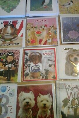 50 Varied Mix Cards, Wholesale Joblot Greeting Cards