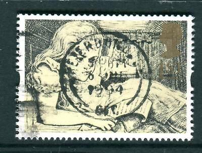 1994 GB 1st Alice in Wonderland Used. Greetings Stamps. Messages