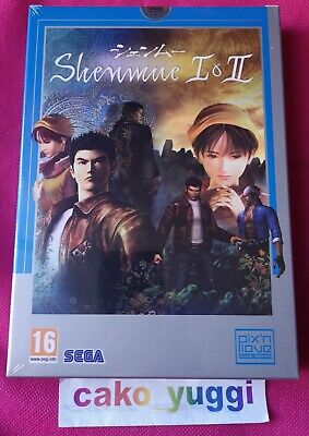 Shenmue I & Ii Edition Pix'n Love Collector Sony Ps4 Neuf Sous Blister