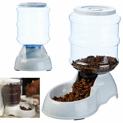 AUTOMATIC PET FOOD DISPENSER for Dog for Cat Feeder Bowl Gravity Easy Fill Food