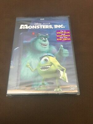 Monsters, Inc. (DVD, 2013) DISNEY Pixar Brand NEW! @FREE Shipping!!@