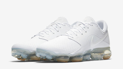 76180206f458 Nike Air VaporMax Mens Running Shoes New White AH9046-101 Size uk 10.5